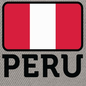 National Flag Of Peru - Snapback Cap