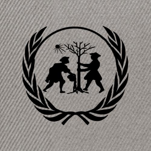 Logo Lorbeerkranz - Snapback Cap