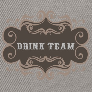 Drink Team - Snapback Cap