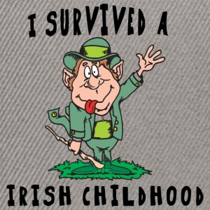 Irish I Survived A Irish Childhood - Snapback Cap