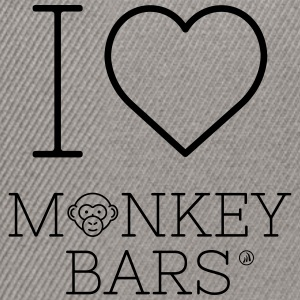 I love Monkey Bars - Casquette snapback