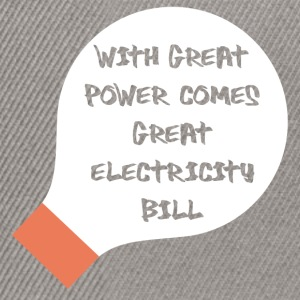 Electricians: With great power comes great - Snapback Cap
