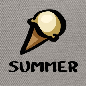 Summer Ice Cream - Snapback Cap