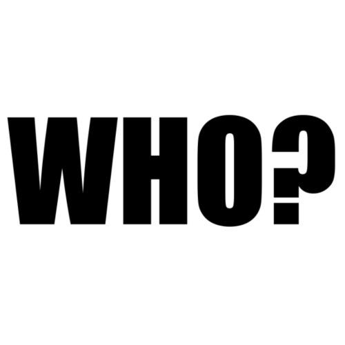 WHO sort - Snapback Cap