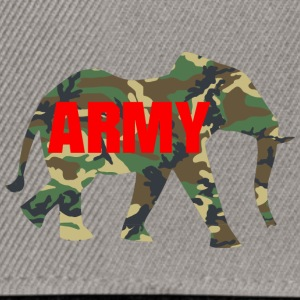 ARMY ELEPHANT - Casquette snapback