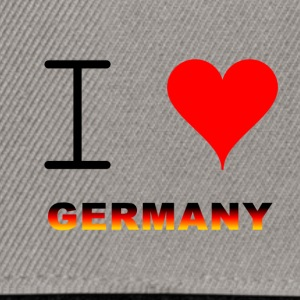 I LOVE GERMANY COLLECTION - Snapback-caps