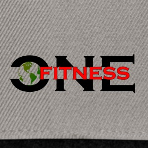 ONE FITNESS Logo - Casquette snapback