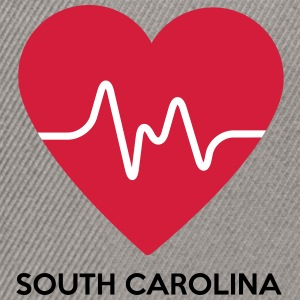Heart South Carolina - Snapback Cap