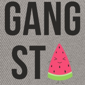gangsta Watermelon - Snapback cap