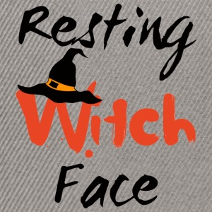 Halloween: Witch Resting Face - Snapback-caps