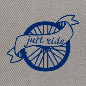 Cycling: Just Ride - Snapback Cap
