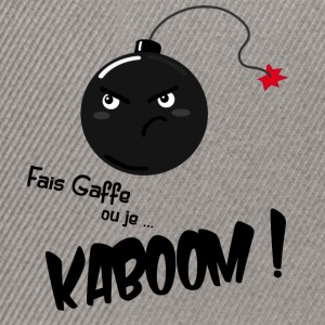 kaboom ! - Casquette snapback