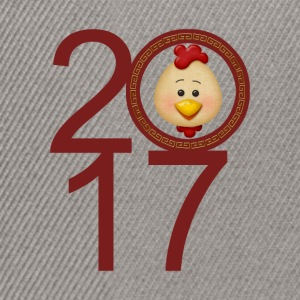 2017 Year of the Rooster - Snapback Cap
