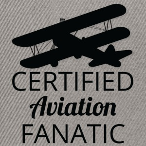Pilot: Aviation certifié Fanatique. - Casquette snapback