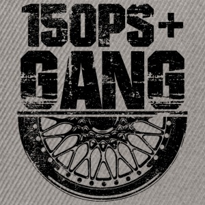 150 PS Gang Black - Snapback Cap