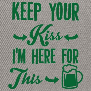 Irland / St. Patrick´s Day: Keep Your Kiss. I´m - Snapback Cap