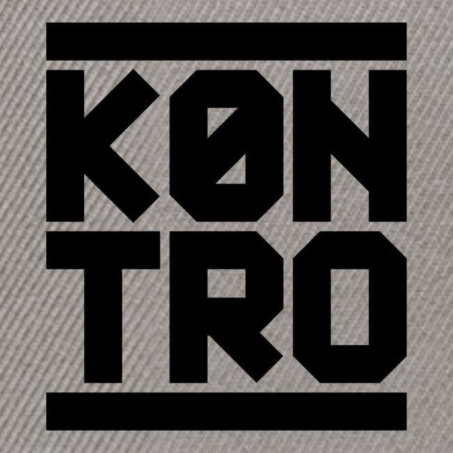 KONTRO Black Logo