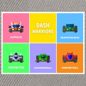 dashwarriors - Snapback-caps