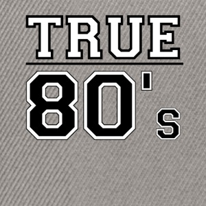 True80-small - Snapback Cap