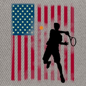 stjärna tennis US Open Amerika flagg tibreak Player - Snapbackkeps