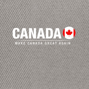Fare Canada Great Again - Snapback Cap