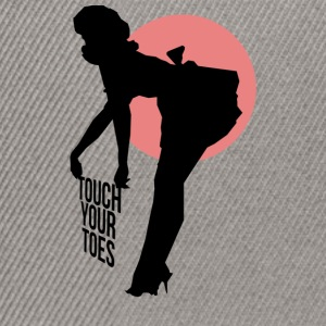 Vintage Girl - Touch Your Toes! - Snapback Cap