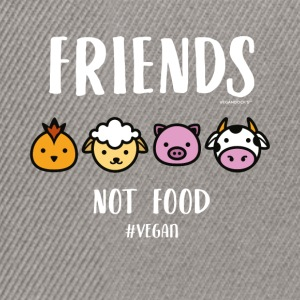 Friends Not Food #VEGAN - Snapback Cap