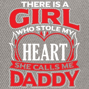 DADDY - THERE IS A GIRL WHO STOLE MY HEART - Snapback Cap