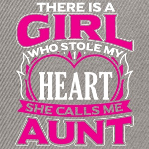 AUNT - THERE IS A GIRL WHO STOLE MY HEART - Snapback Cap