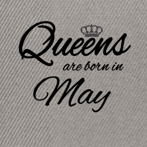 Queens Born May Princess Födelsedag maj - Snapbackkeps
