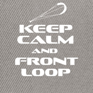 KITESURFING - KEEP CALM AND FRONT LOOP - Snapback Cap