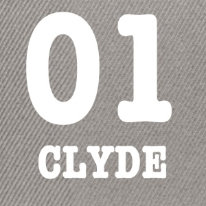 clyde white - Snapback-caps