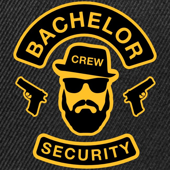 Bachelor Security - JGA T-Shirt - Bräutigam Shirt