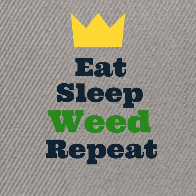 Eat Sleep Weed Repeat Tees by SeSQoOo