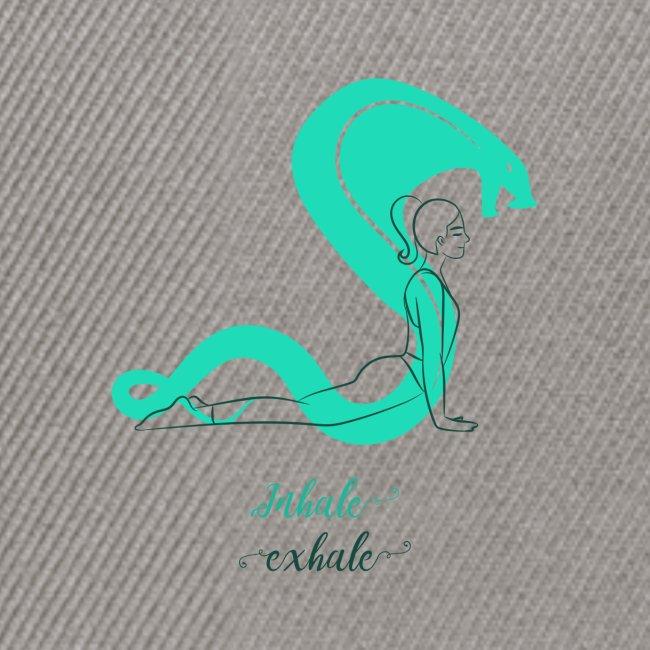 yoga t shirt design maker featuring a meditating w