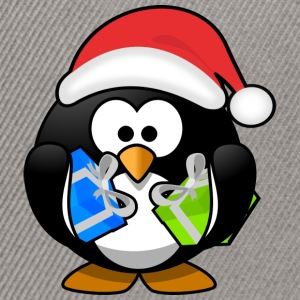 Father Christmas Penguin - Snapback-caps