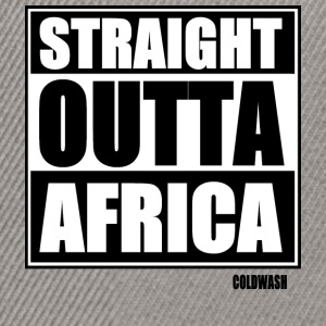 Straight Outta AFRICA - Snapback Cap