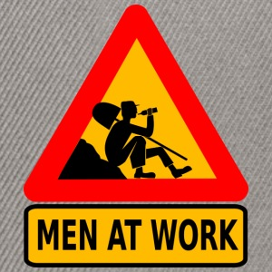 Men at work - Casquette snapback
