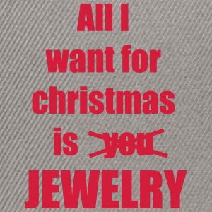 Christmas song saying Jewelry - Snapback Cap