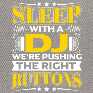 SLEEP WITH A DJ - PUSHING THE RIGHT BUTTONS - Snapback Cap