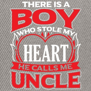 UNCLE - THERE IS A BOY WHO STOLE MY HEART - Snapback Cap