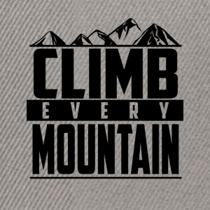 Climb every mountain - Snapback Cap