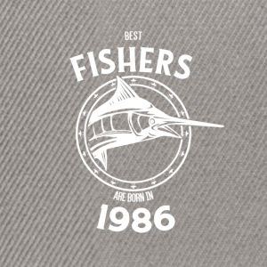 Present for fishers born in 1986 - Snapback Cap