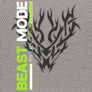 Beast Mode Tribal - Snapback Cap