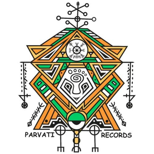 Parvati Records Vegvísir - Snapback Cap