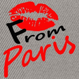 kiss_from_Paris - Snapback Cap