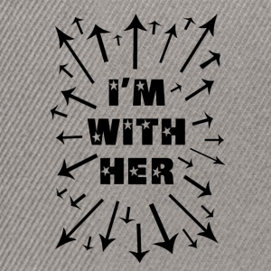 I'm With Her! Support Women Everywhere! - Snapback Cap