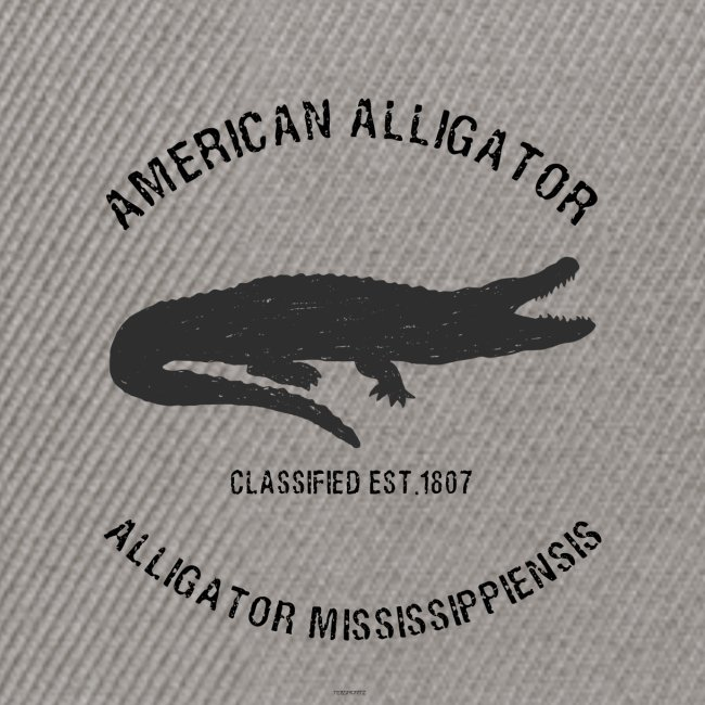 American Alligator black