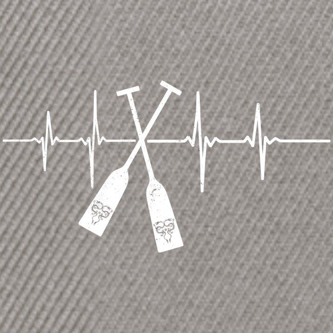 Drachenboot Paddel EKG Herzschlag