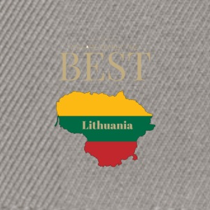 Lithuania is simply the best - Snapback Cap